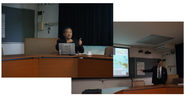 Dr. Monchai and Dr. Faiz gave the lectures